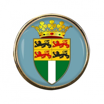 Rotterdam (Netherlands) Round Pin Badge