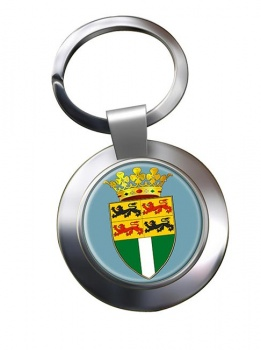 Rotterdam (Netherlands) Metal Key Ring