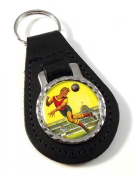 Roy of the Rovers Leather Key Fob