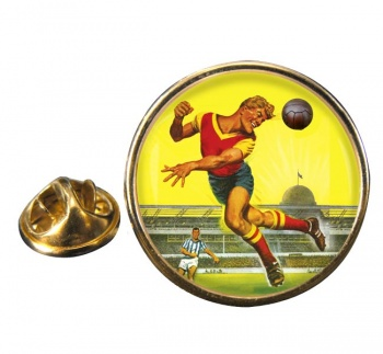 Roy of the Rovers Round Pin Badge