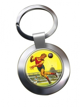 Roy of the Rovers Chrome Key Ring
