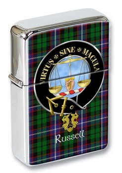 Russell Scottish Clan Flip Top Lighter