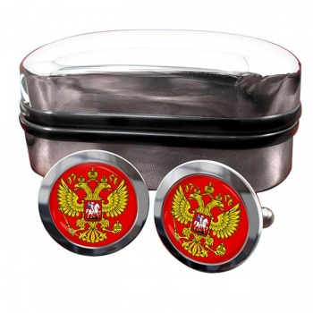 Russian Coat of arms Crest Cufflinks