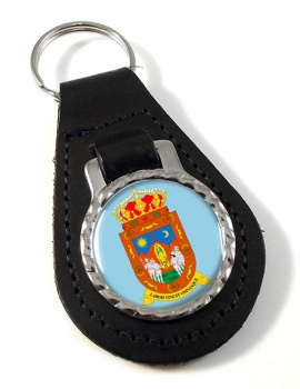 Zacatecas (Mexico) Leather Key Fob