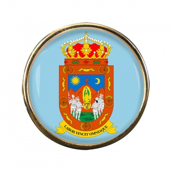 Zacatecas (Mexico) Round Pin Badge