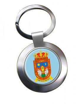 Zacatecas (Mexico) Metal Key Ring