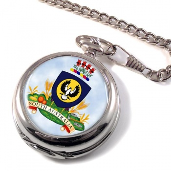 South Australia Coat of Arms  Pocket Watch