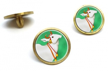Sacred Cow  Golf Ball Markers