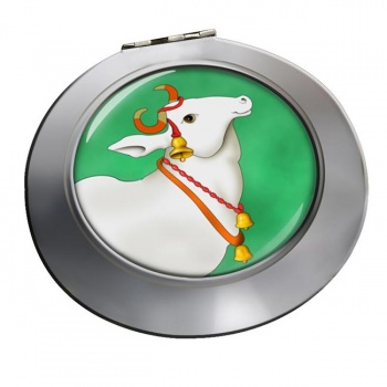 Sacred Cow  Chrome Mirror