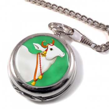 Sacred Cow  Pocket Watch