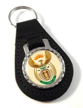 Crest (South Africa) Leather Key Fob