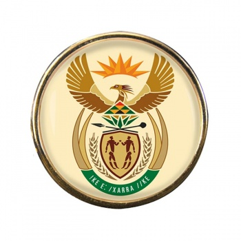 Crest (South Africa) Round Pin Badge