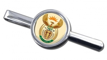 Crest (South Africa) Round Tie Clip
