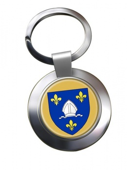 Saintonge (France) Metal Key Ring