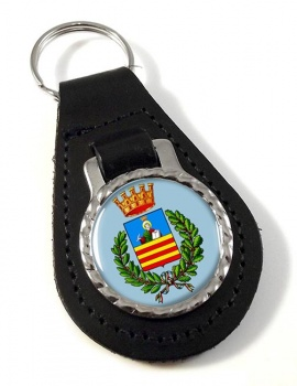 Salerno (Italy) Leather Key Fob