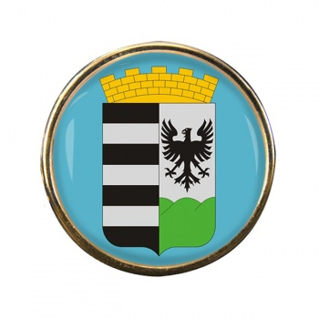 Salgotarjan Round Pin Badge