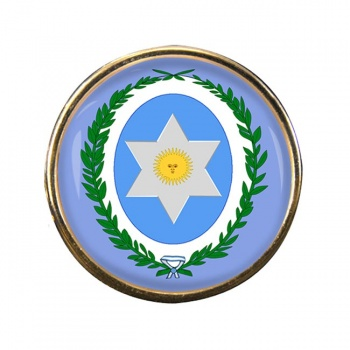 Argentine Salta Round Pin Badge