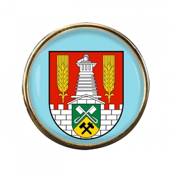 Salzgitter (Germany) Round Pin Badge