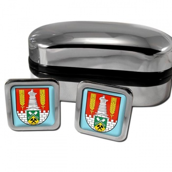Salzgitter Germany Square Cufflinks