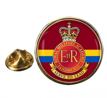 Royal Military Academy Sandhurst Round Pin Badge