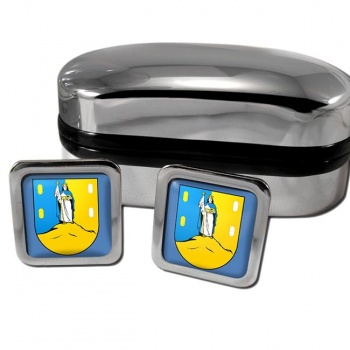 San Luis Mexico Square Cufflinks