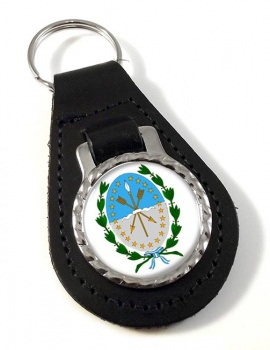 Argentine Santa Fe Leather Key Fob