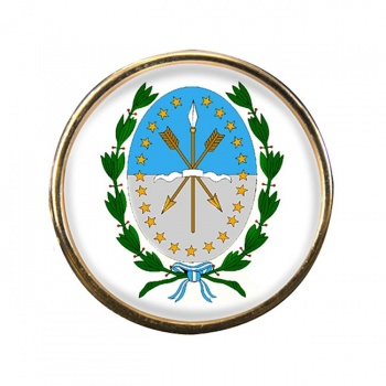 Argentine Santa Fe Round Pin Badge