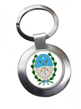 Argentine Santa Fe Metal Key Ring