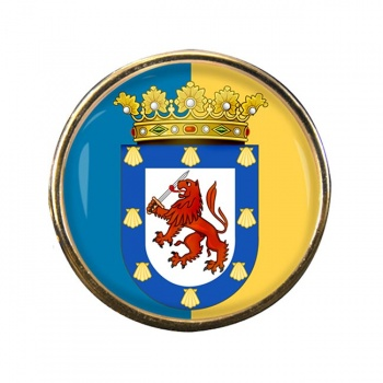 Santiago (Chile) Round Pin Badge