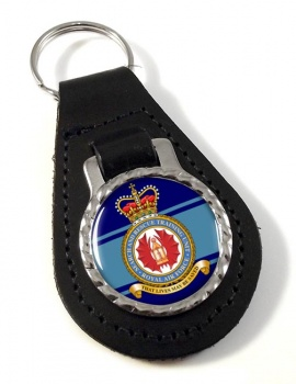 Search and Rescue Training Unit Leather Key Fob
