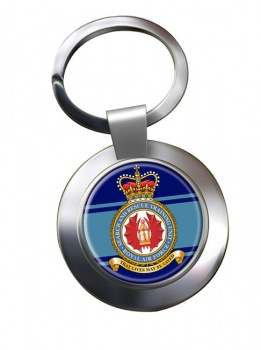 Search and Rescue Training Unit Chrome Key Ring