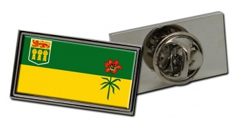Saskatchewan (Canada) Flag Pin Badge