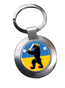 Satakunta Metal Key Ring