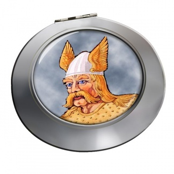 Saxon Warrior Chrome Mirror