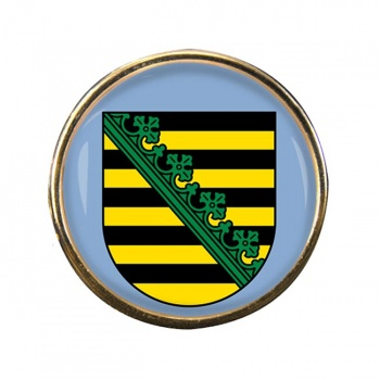 Sachsen Saxony (Germany) Round Pin Badge