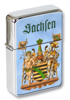 Sachsen Saxony (Germany) Flip Top Lighter