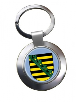 Sachsen Saxony (Germany) Metal Key Ring