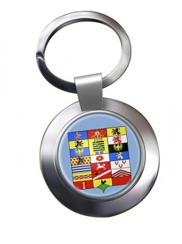 Sachsen-Altenburg (Germany) Metal Key Ring