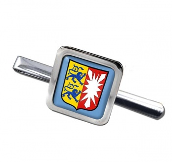 Schleswig-Holstein (Germany) Square Tie Clip
