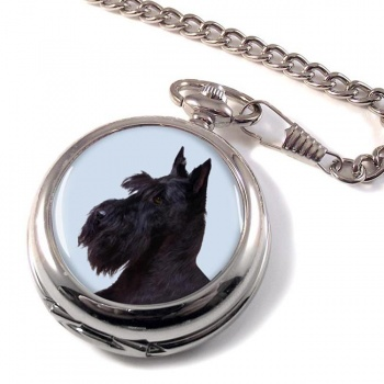 Scottish (Scottie) Terrier Pocket Watch
