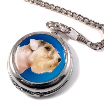 Sealyham Terrier Pocket Watch