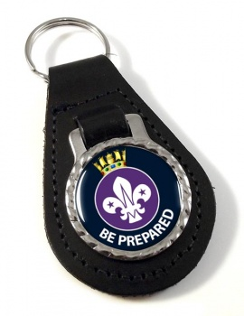 Sea Scouts Leather Key Fob