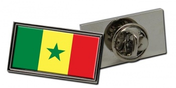 Senegal Flag Pin Badge