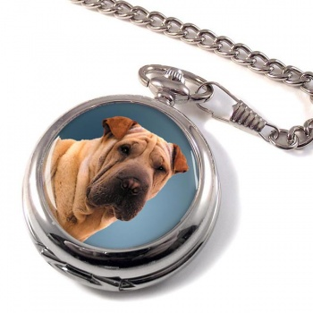 Shar Pei Pocket Watch