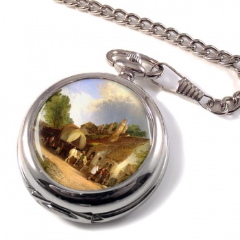 The Old Roadside Inn Pocket Watch