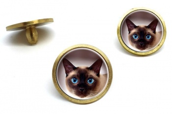Siamese Cat  Golf Ball Marker Set