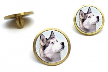 Siberian Husky  Golf Ball Marker Set