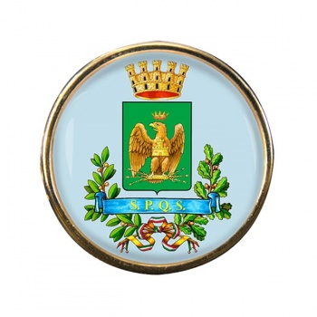 Siracusa (Italy) Round Pin Badge
