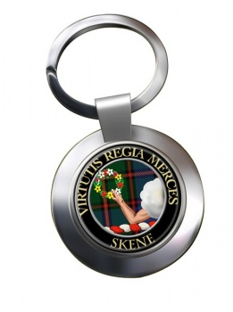 Skene Scottish Clan Chrome Key Ring