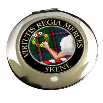 Skene Scottish Clan Chrome Mirror